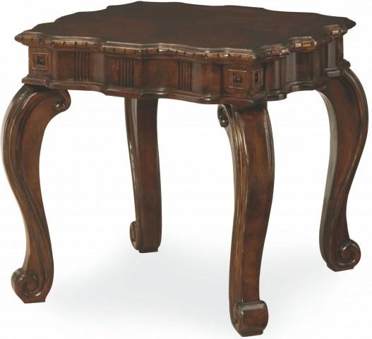 La Bella Vita Rectangular End Table