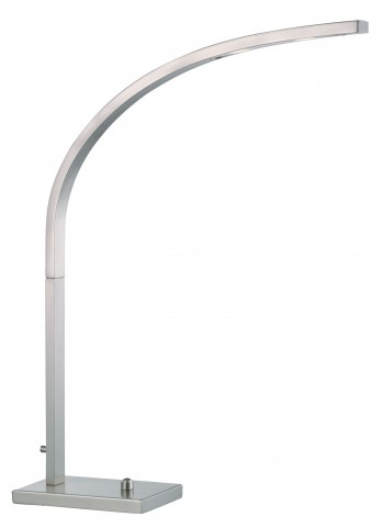 Sonic Satin Steel Led Desk Lamp