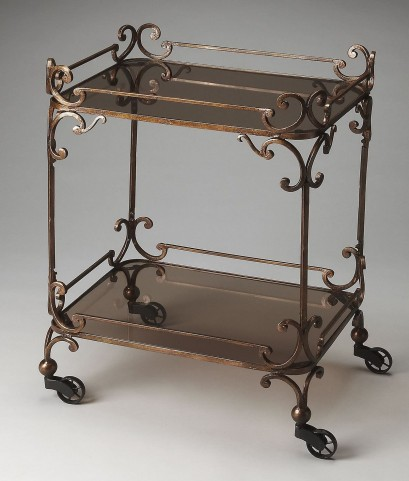 Delphine Metalworks Serving Cart