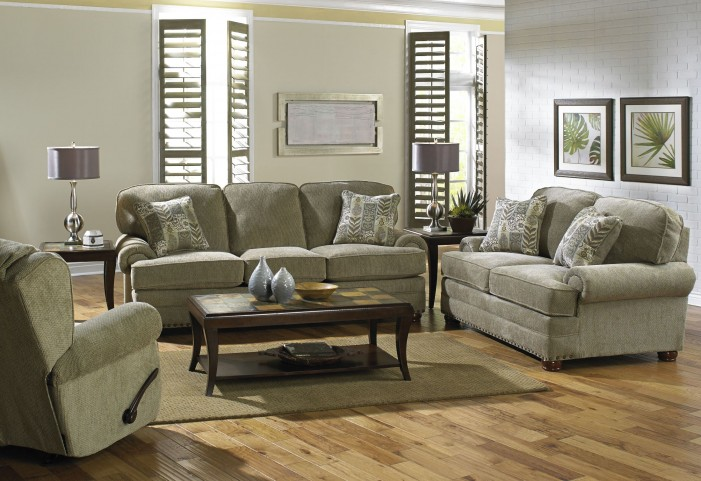 Braddock Mineral Living Room Set