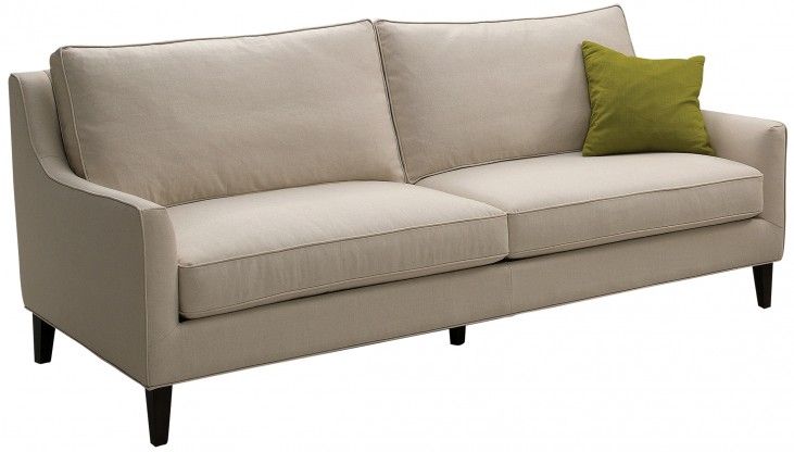 Hanover Beige Cotton Sofa