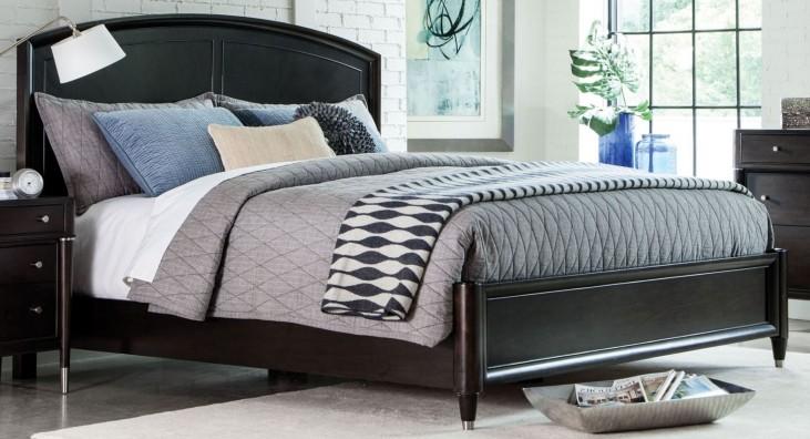 Vibe Merlot King Panel Bed