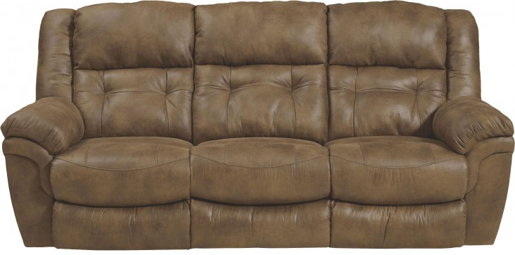 Joyner Almond Reclining Sofa