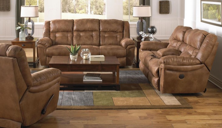 Joyner Almond Power Reclining Living Room Set