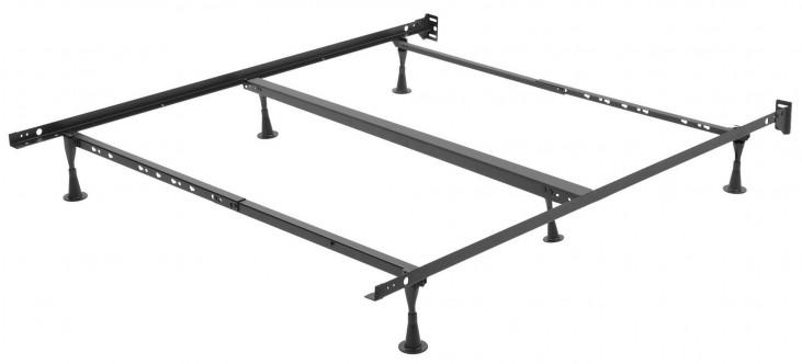 Restmore Black Universal Bed Frame