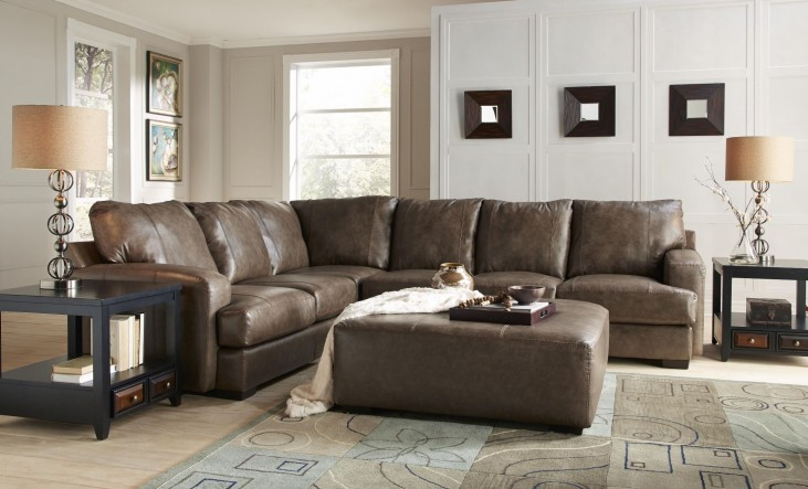 Barrington Smoke Large Sectional