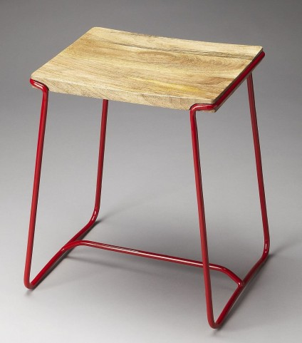 Parrish Loft Red Stool