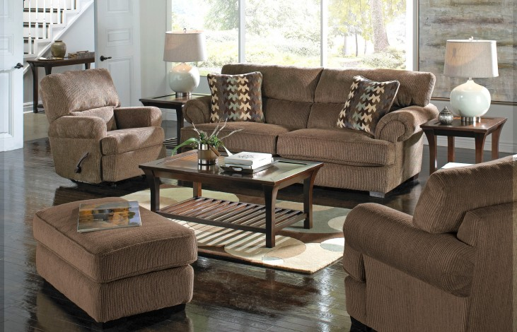 Hayden Bark and Smoke Living Room Set