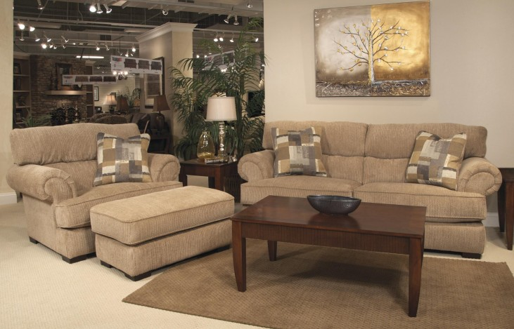 Hayden Dune and Mineral Living Room Set