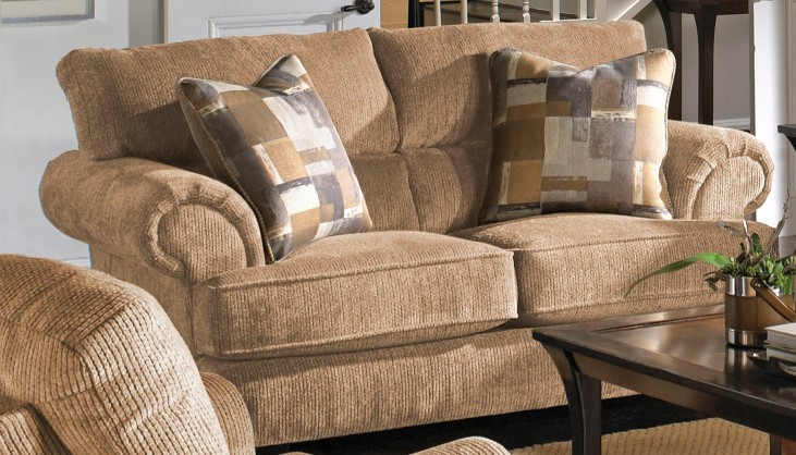 Hayden Dune and Mineral Loveseat