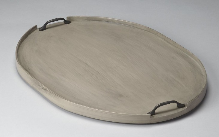 Dubois Hors D'Oeuvres Gray Serving Tray