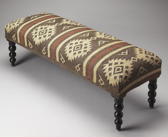 Navajo Taos Upholstered Bench