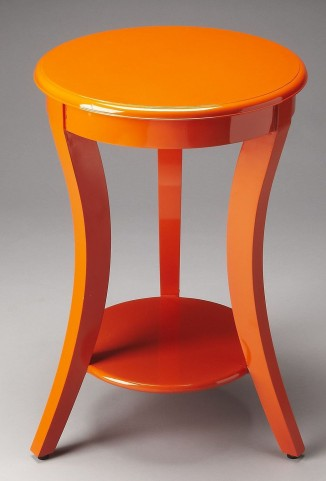 Holden Loft Orange Accent Table