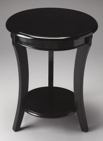 Holden Loft Black Accent Table