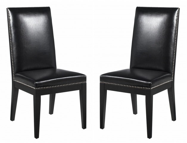 St-Tropez Black Dining Chair Set of 2