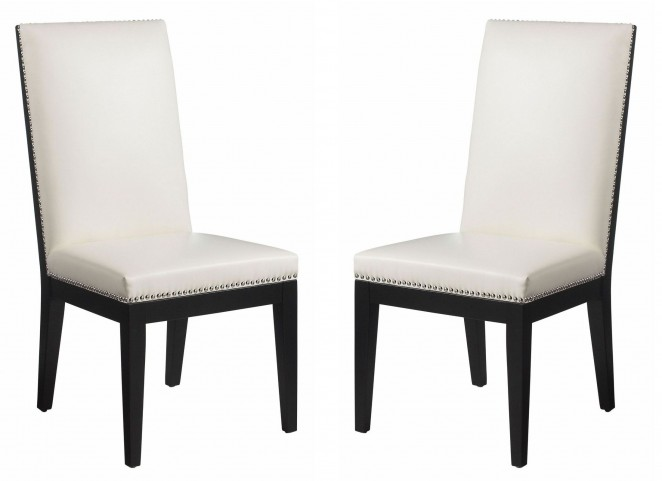 St-Tropez Ivory Dining Chair Set of 2