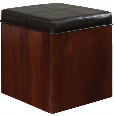 Studio Brown Mahogany Studio Stool
