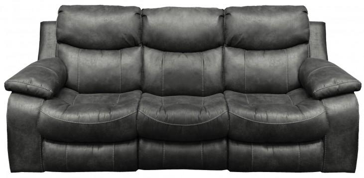 Catalina Steel Reclining Sofa