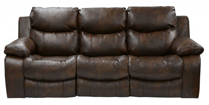 Catalina Timber Reclining Sofa