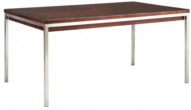 Soho Dark Brown Leg Table