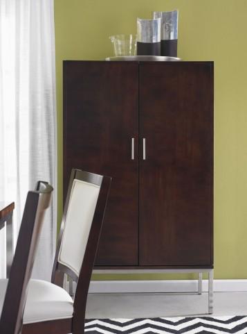 Soho Dark Brown Storage Cabinet