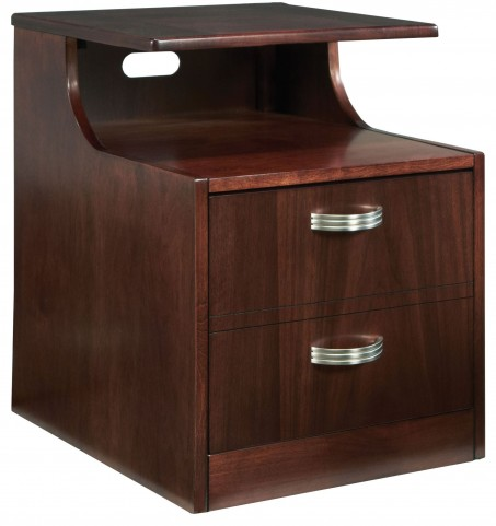 Soho Dark Brown File Cabinet