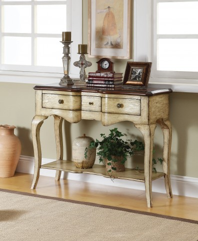 Three Drawer Console Table 43345