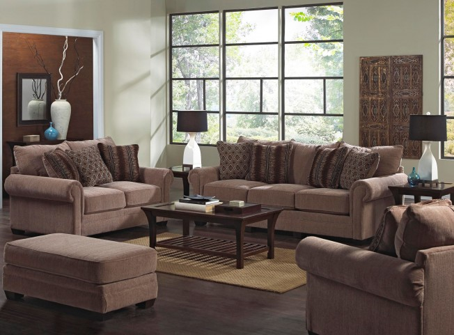 Anniston Saddle Living Room Set