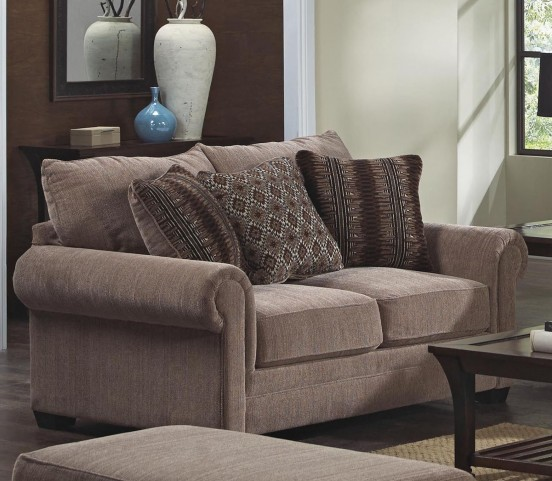 Anniston Saddle Loveseat