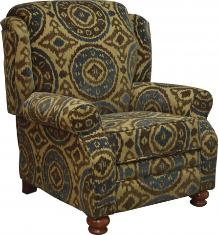 Belmont Peacock Reclining Chair