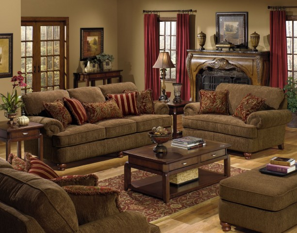 Belmont Umber Living Room Set