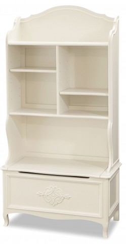 Genevieve French White Book Nook