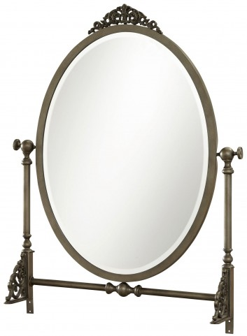 Genevieve French White Mademoiselle Mirror