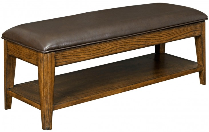 Estes Park Upholstered Storage Bench