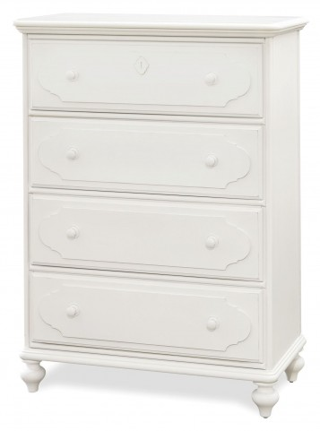 Smartstuff White 4 Drawer Chest