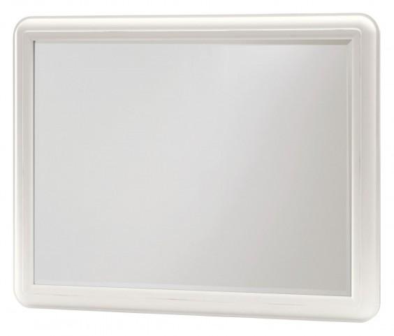 Smartstuff White Landscape Mirror