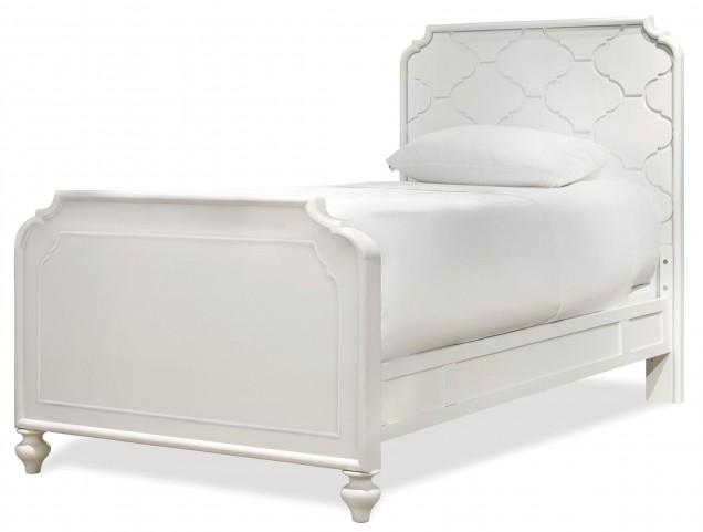 Smartstuff White Full Panel Bed