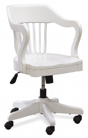 Smartstuff White Young Banker's Chair