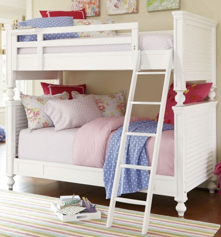 Smartstuff White Twin Over Full Bunk Bed