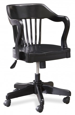 Smartstuff Black Young Banker's Chair