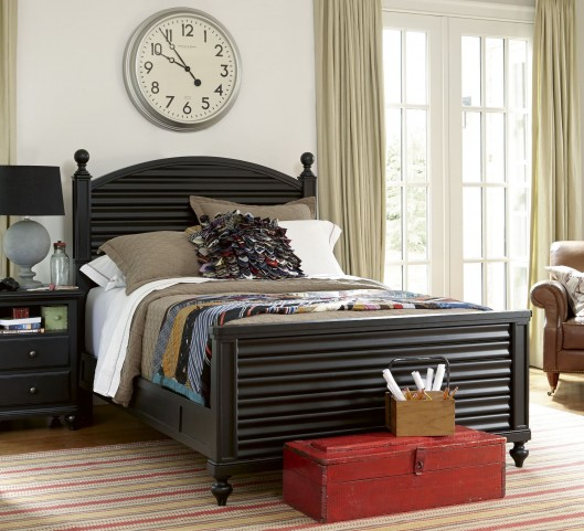 Smartstuff Black Reading Bedroom Set