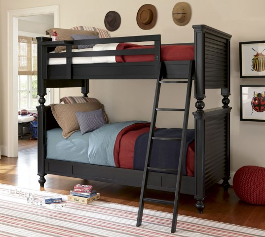 Smartstuff Black Bunk Bedroom Set
