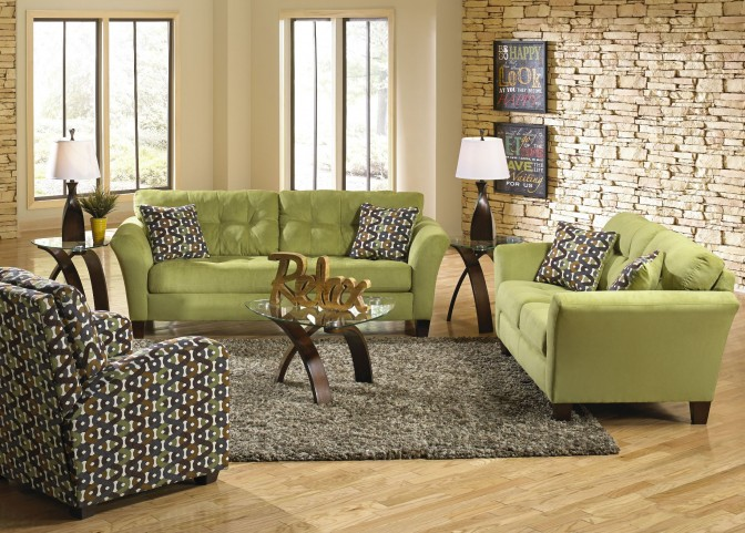 Halle Basil Living Room Set