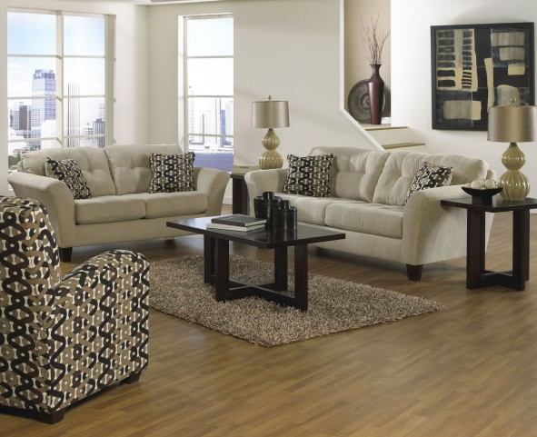Halle Doe Living Room Set