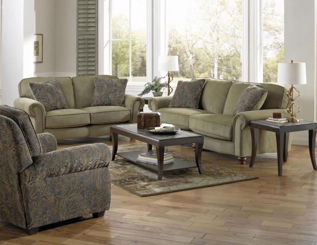 Downing Fern Living Room Set