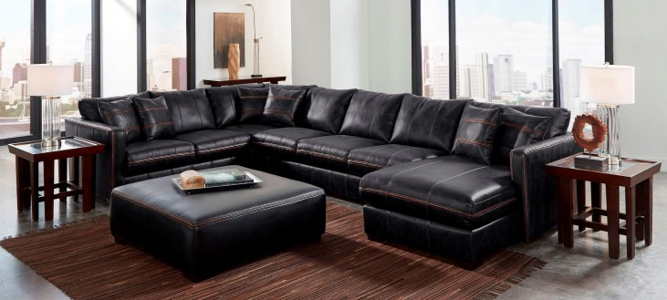 Tucker Black Sectional