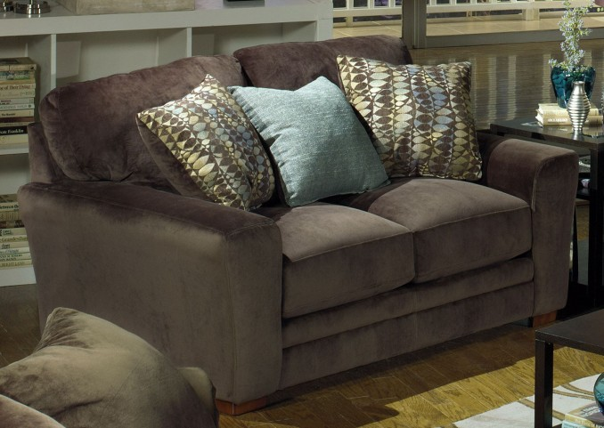 Whitney Chocolate Loveseat
