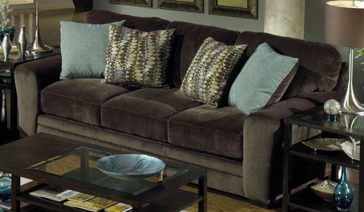 Whitney Chocolate Sofa