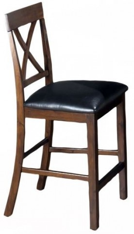 Olsen Oak X Back Pub Stool Set of 2
