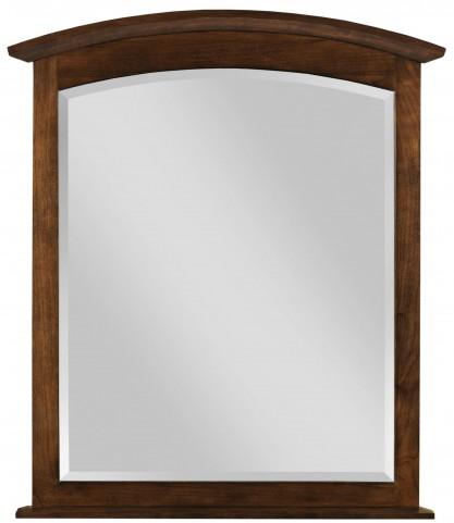 Gatherings Cinnamon Arch Mirror